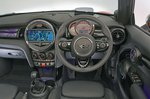 Mini Convertible 2021 RHD dashboard