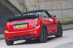 Mini Convertible 2021 rear static