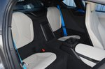 BMW i8 back seats