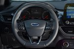 Ford Fiesta ST 2021 steering wheel detail