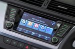Skoda Fabia Estate 2021 infotainment