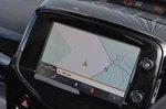 Peugeot 108 2018 RHD infotainment shot