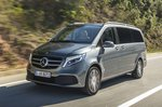 Mercedes-Benz V-Class 2019 front tracking