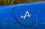 Alpine A110 badge