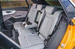 Audi Q8 rear seats