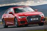 Audi A6 Cornering