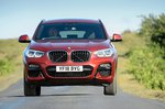 BMW X4 front