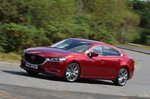 Mazda 6 front three quarters two