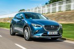 Mazda CX-3 front driving