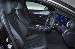 Mercedes CLS front seats