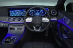 Mercedes CLS dashboard