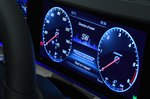 Mercedes CLS digital instruments