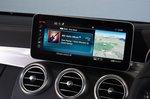 Mercedes C-Class Coupé infotainment