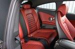 Mercedes C-Class Coupé rear seats