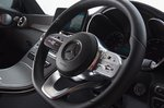 Mercedes C-Class Coupé steering wheel