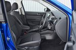 Skoda Fabia front seats and interior
