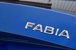 Skoda Fabia nameplate detail