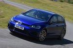 Volkswagen Golf R front cornering