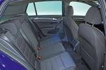 Volkswagen Golf R rear seats