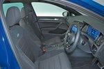 Volkswagen Golf R front seats