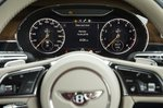 Bentley Continental GT instruments