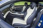 Bentley Continental GT front seats