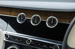 Bentley Continental GT centre console dials