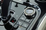Bentley Continental GT climate controls