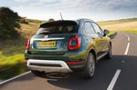 Fiat 500X rear three quarter