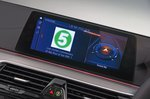 BMW 5 Series infotainment