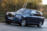Rolls-Royce Cullinan front cornering