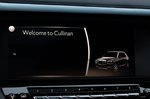 Rolls-Royce Cullinan infotainment screen