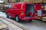 Volkswagen Transporter T6 rear loadspace