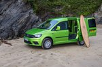 Volkswagen Caddy carrying