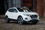 2019 Nissan Qashqai front three-quarter static 2