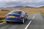 Audi A5 2019 rear right tracking shot