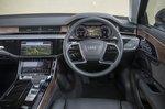 Audi A8 2019 RHD dashboard