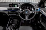 BMW X2 2019 dashboard