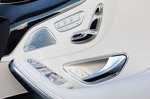 Mercedes-Benz S Class Cabriolet 2019 seat adjuster detail