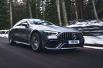 Mercedes-AMG GT 4-door 2019 high front tracking
