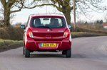 Suzuki Celerio 2019 rear tracking shot