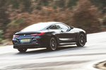 BMW 8 Series 2019 rear right tracking shot