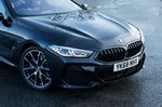 BMW 8 Series 2019 headlamp detail