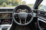 Audi A6 Avant 2019 RHD dashboard