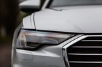 Audi A6 Avant 2019 headlight detail