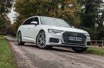 Audi A6 Avant 2019 static exterior shot