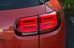 Citroen C5 Aircross 2019 rear light detail