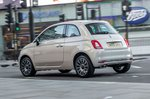 Fiat 500 2018 rear left urban static shot