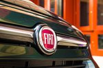 Fiat 500X 2019 nose detail