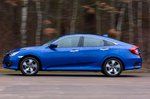 Honda Civic Saloon 2019 left side outdoor tracking